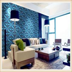 D006 Factory Price 3D Wall Covering / 3D Board For interior Wall Decoration