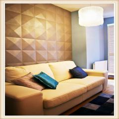 D019 Hot Sale Building Material PVC 3D Wall Panels / 3D Wall Tiles For 3D Wall Decor